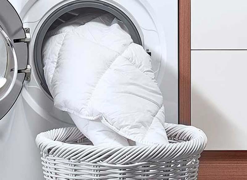 Daunenbettdecke waschen